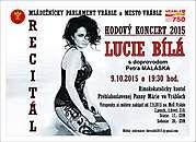 Hodový koncert 2015 Vráble, Recitál Lucie Bílej, 9.10.2015