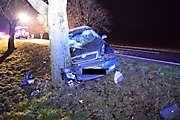 Dopravná nehoda, Chrabrany - Ludanice, 2.12.2014